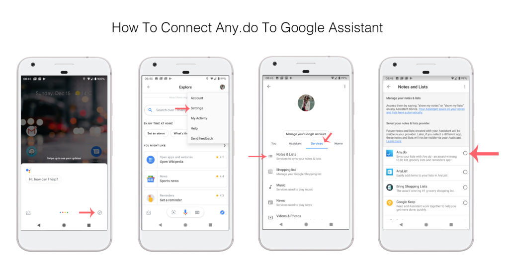 Connect to Google Assistant